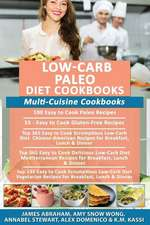 Low-Carb Paleo Diet Cookbooks