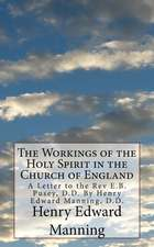 The Workings of the Holy Spirit in the Church of England