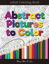 Abstract Pictures to Color