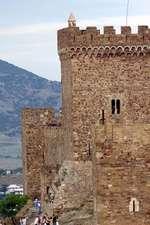Ancient Genoese Fortress in Sudak Crimea Ukraine Journal