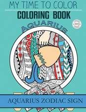 Aquarius Zodiac Sign - Adult Coloring Book