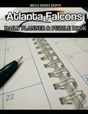 Atlanta Falcons Daily Planner and Puzzle Book