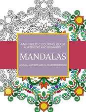 Mandala Animals and Botanical Garden Designs