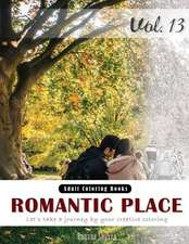 Romantic Place & Country Coloring Book for Stress Relief & Mind Relaxation, Stay Focus Therapy