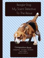 Funny Beagle - Scent Detective Composition Notebook
