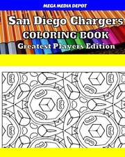 San Diego Chargers Coloring Book Greatest Players Edition