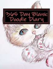 365 Day Blank Doodle Diary
