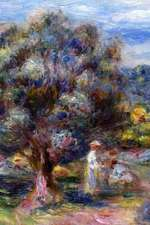 150 Page Lined Journal Aloe, Picking at Cagnes, 1910 Pierre Auguste Renoir