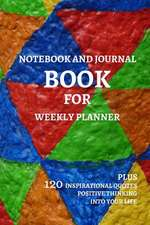 Notebook and Journal Book for Weekly Planner