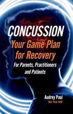 Concussion - Your Game Plan for Recovery