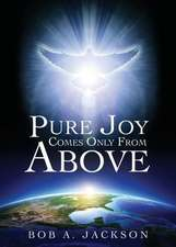 Pure Joy Comes Only from Above