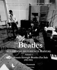 The Beatles Recording Reference Manual