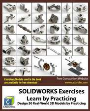 Solidworks Exercises - Learn by Practicing