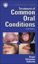 Treatment Common Oral Conditions