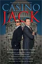 Casino Jack:  A Screenplay