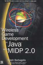Wireless Game Development in Java with MIDP 2.0