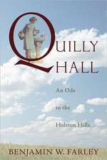 Quilly Hall: An Ode to the Holston Hills