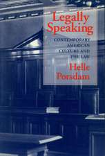 Legally Speaking:  Contemporary American Culture and the Law
