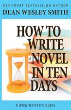 How to Write a Novel in Ten Days:  Fantastic Detectives