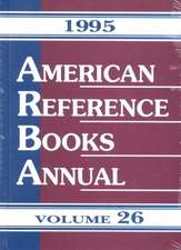 American Reference Books Annual 95:  Volume 26