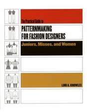 Practical Guide to Patternmaking for Fashion Designers: Juniors, Misses and Women