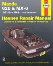 Mazda 626 and MX-6 Four Wheel Drive, 1983-1992