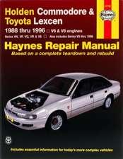 Holden Commodore & Toyota Lexcen (88 - 96)