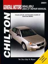 Chilton Total Car Care Chevy Malibu, 2004-2010 Repair Manual