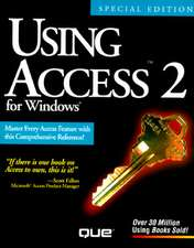 Using Access 2 F/Windows