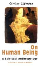 On Human Being:  Spiritual Anthropology