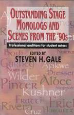 Outstanding Stage Monologs and Scenes from the '90s
