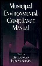 Municipal Environmental Compliance Manual