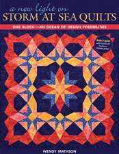 A New Light on Storm at Sea Quilts