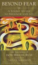 Beyond Fear:  A Toltec Guide to Freedom and Joy