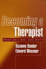 Becoming a Therapist