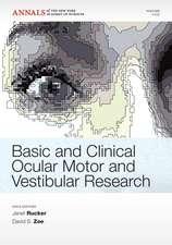 Basic and Clinical Ocular Motor and Vestibular Research, Volume 1233