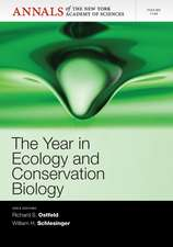 The Year in Ecology and Conservation Biology 2012, Volume 1249