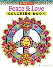 Peace & Love Coloring Book