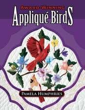 Award-Winning Applique Birds