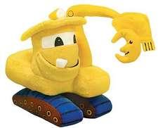 "Jucărie de pluș excavator: Goodnight, Goodnight, Construction Site 11"" Doll"