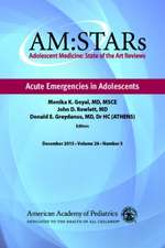 Am:  Adolescent Medicine State of the Art Reviews, Vol 26 Number 3
