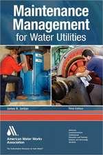 Maintenance Management for Water Utilities