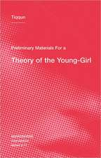 Preliminary Materials for a Theory of the Young–Girl
