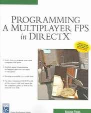 Programming Mutliplayer FPS Direct X