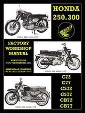 Honda Motorcycles Workshop Manual 250-305 Twins 1960-1969