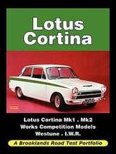 Lotus Cortina - Road Test Portfolio