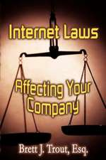 Internet Laws Affecting Your Company