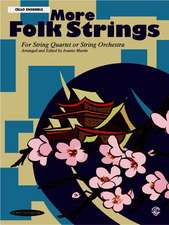 More Folk Strings for Cello Ensemble
