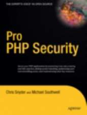 Pro PHP Security