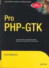 Pro PHP-GTK